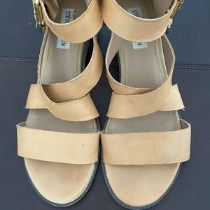 Steve Madden Rosana leather Sandals size 8